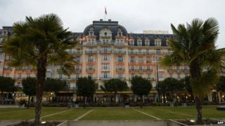 The Montreux-Palace hotel