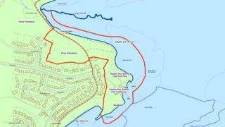 Map of Dalgety Bay