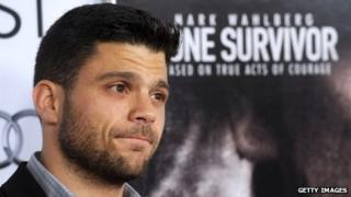 Actor Jerry Ferrara attends the premier of the film Lone Survivor.