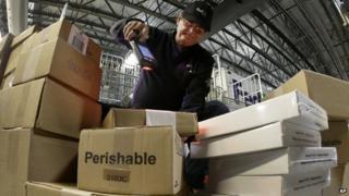 FedEx warehouse - file pic