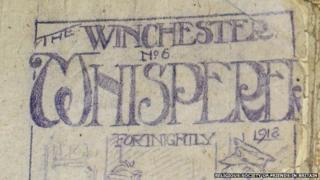 The Winchester Whisperer - secret newspaper produced by conscientious objectors in WW1