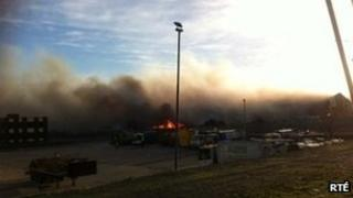The fire at Oxigen Recycling Plant