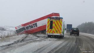 Crash on A9