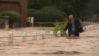 Southwell flooding