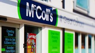 McColl's shop