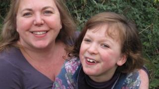 Gail Singleton-Parkes and her daughter, Samantha