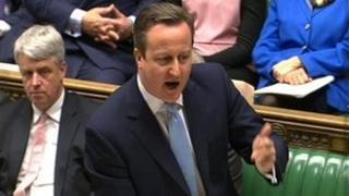 David Cameron at FMQs