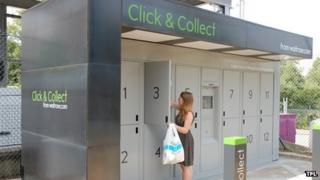 Click and collect lockers