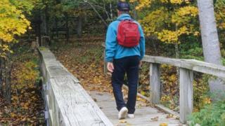 Man walking