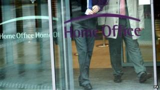 People leaving Home Office