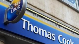 Thomas Cook bookings down