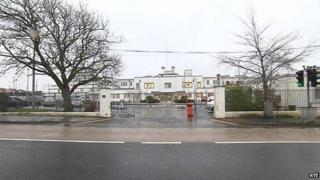 Midland Regional Hospital in Portlaoise