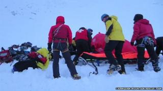 Rescue in Cairngorms