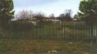 Plan for the Creekmoor temporary traveller site