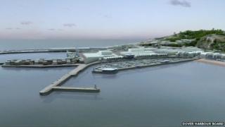 Dover harbour plans