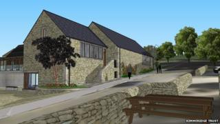 How Kimmeridge Fossil Museum would look