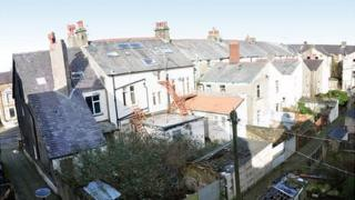 derelict Morecambe guesthouses