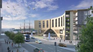 New Sleeperz hotel in Dundee