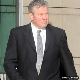 Murray, formerly of Damien Murray and Co Solicitors in Belfast's Botanic Avenue, appeared at Belfast Crown Court