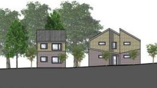 Designs for new homes in Mitchell Avenue, Bury St Edmunds
