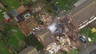 Clacton house gas explosion
