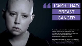 Pancreatic Cancer Action ad