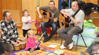 A Dads Rock playgroup