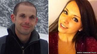 Ed Machin and Megan Roberts
