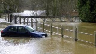 Bridgnorth floods
