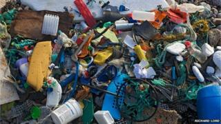 Rubbish collected from Petit Port
