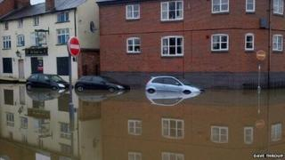 Flooded Cars
