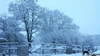Bwlch y Garreg, Powys