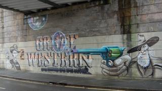Great Western graffiti in Dorchester