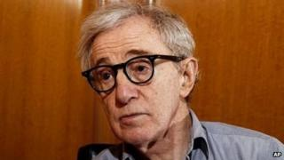 Woody Allen in Beverly Hills, California on December 29, 2011