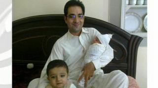 Mohammad Sudais with family