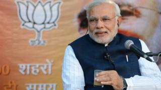 Narendra Modi discussed issues related with governance over a cup of tea with his supporters on Wednesday.