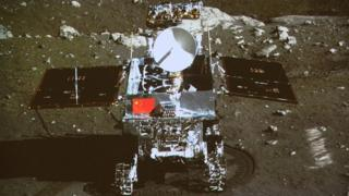 Moon rover called Jade Rabbit
