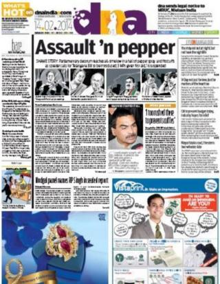 DNA front-page