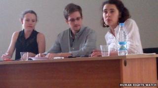 Edward Snowden (12 July 2013)