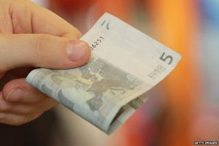 Five-euro note