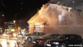 Yoko restaurant fire