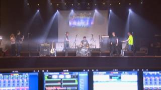 Rehearsals take place for the Clutha charity gig at the Barrowlands