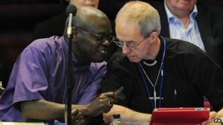 Archbishops John Sentamu and Justin Welby
