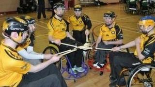 Some of the Ulster squad who took part in the inter-provincial competition in Galway recently