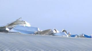 IWM damaged roof