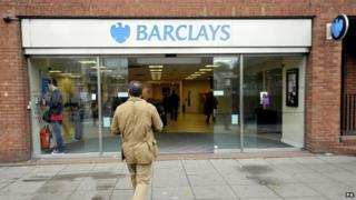 Barclays bank in Swiss Cottage