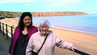Ruth Jones and Margaret Peet