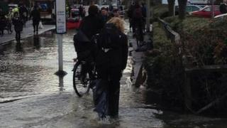 Flooding on Botley Road