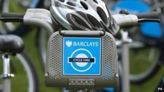 Barclays Cycle Hire bike