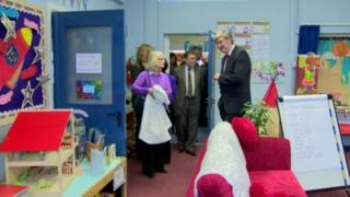 Ministers attend launch of 20 new nurture units